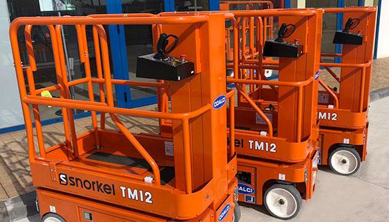 Plataformas Snorkel Tm12 Para Coalci