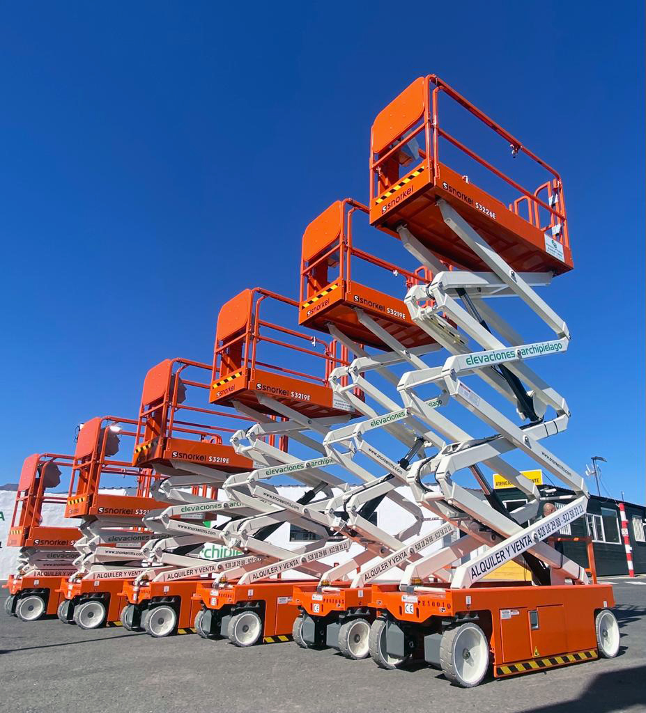 Snorkel Electric Scissor Lifts Ready to Rent
